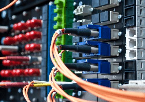 système réseau informatique