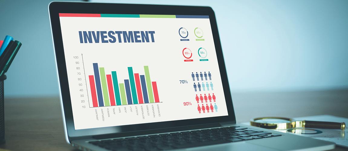 graphique illustrant l'investissement
