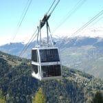 A Paradiski, la fibre optique est installée dans les câbles du téléphérique Vanoise Express