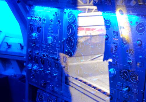 cockpit d'avion
