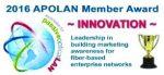 Logo Trophé APOLAN inovation 2016